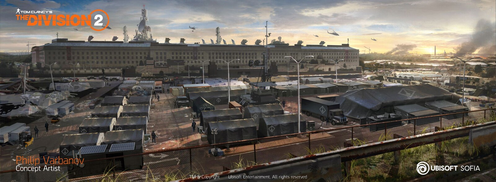 The Division 2 - Pentagon Camp