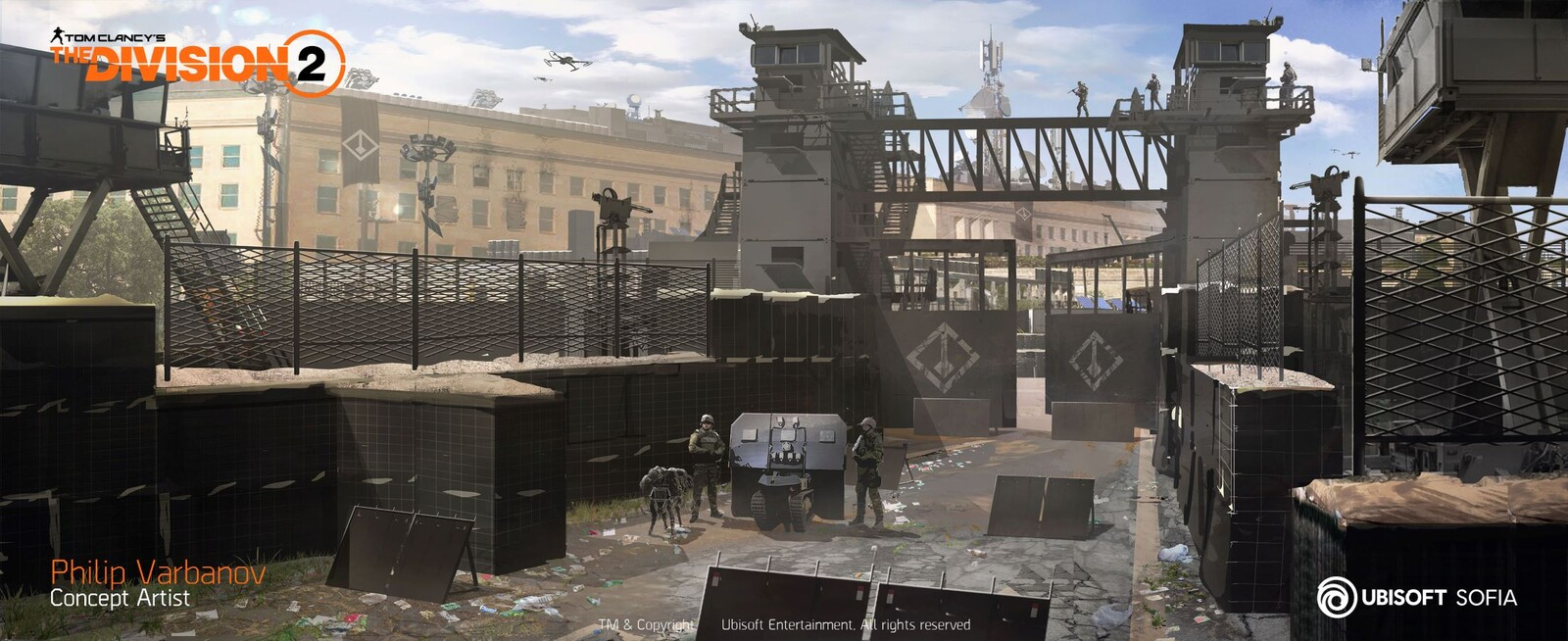 The Division 2 - Pentagon Checkpoint