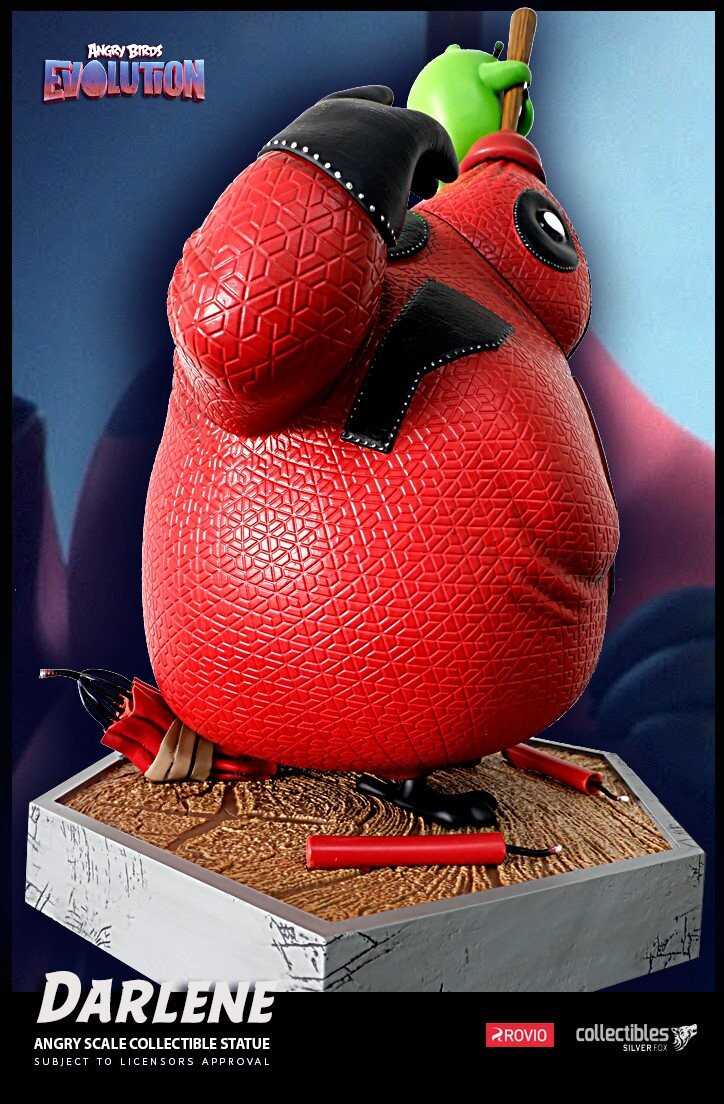 Darlene-Angry Birds Evolution-Rovio Entertainment-Designed by Yacine BRINIS-006-3D Printed and colored