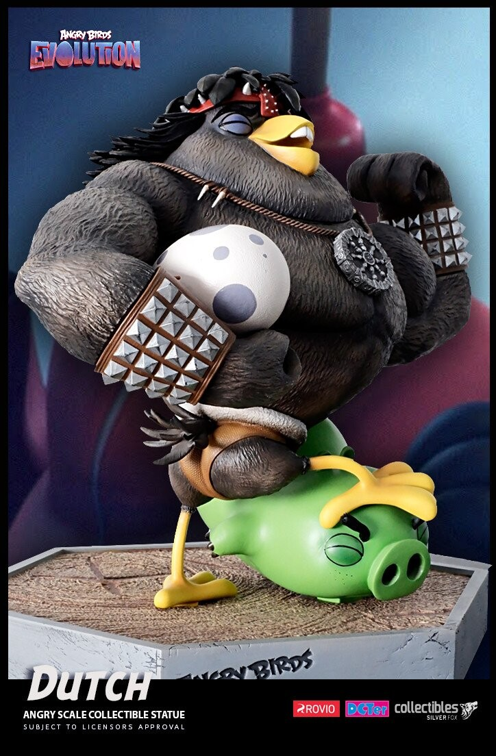 Dutch-Angry Birds Evolution-Rovio Entertainment-Designed by Yacine BRINIS-006-3D Printed and colored