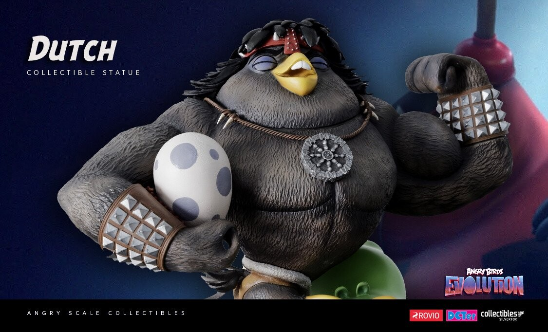 Dutch-Angry Birds Evolution-Rovio Entertainment-Designed by Yacine BRINIS-004-3D Printed and colored