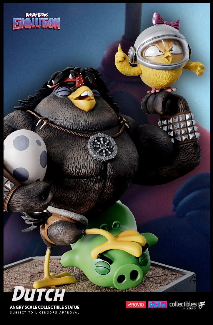 Dutch-Angry Birds Evolution-Rovio Entertainment-Designed by Yacine BRINIS-007-3D Printed and colored