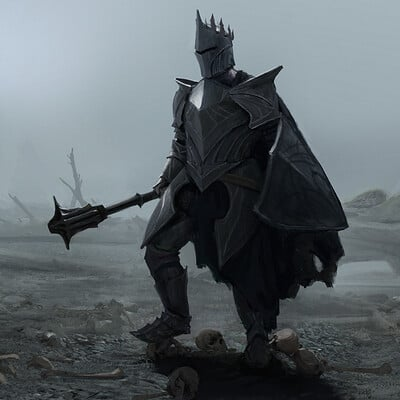 Bram willemot black knight