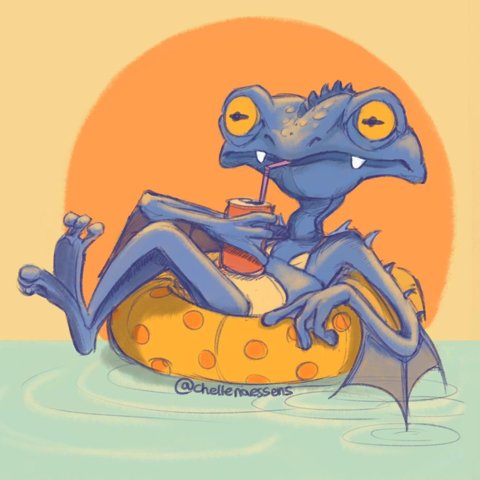 Day 10: Blue Dragon