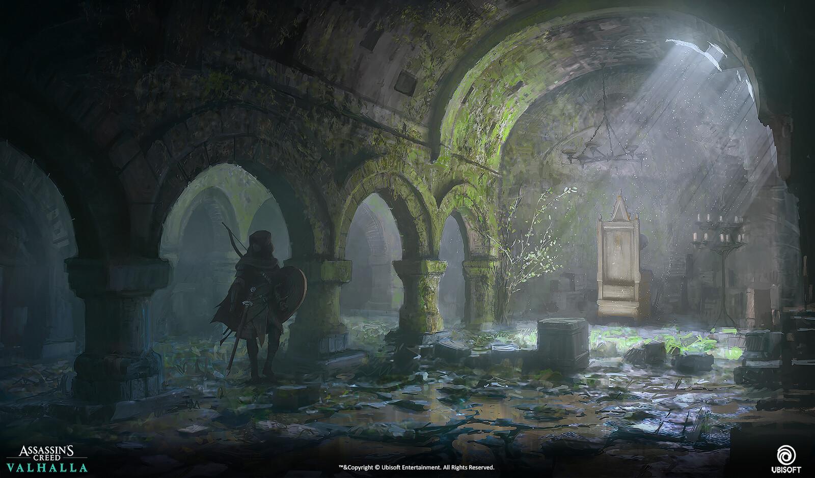Salle du trône.
