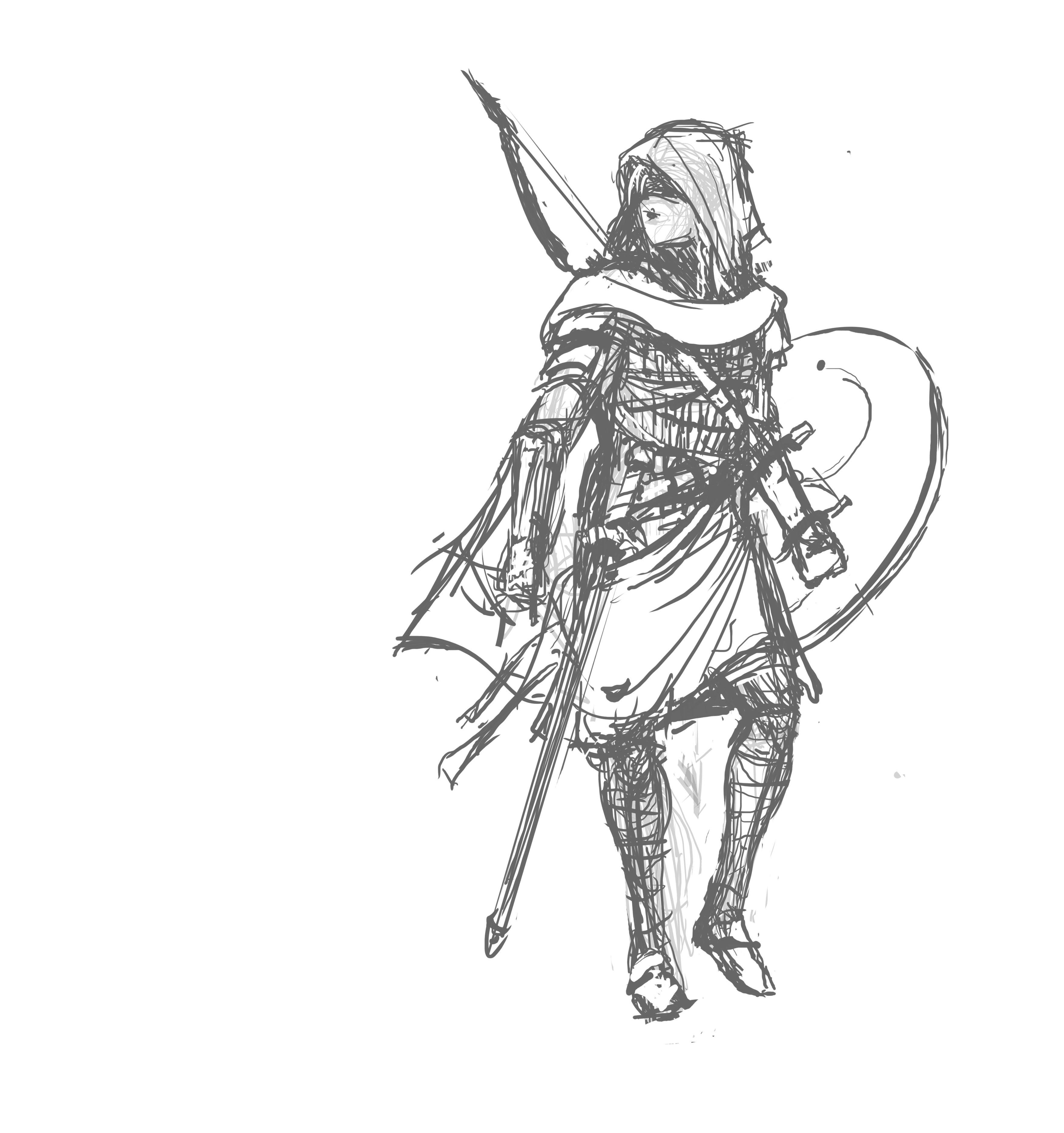 character sketch.