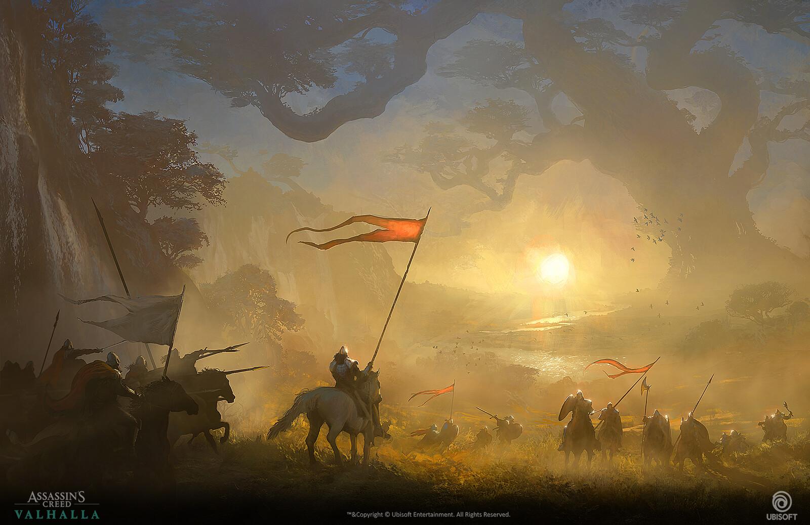 Valhalla battlefield
