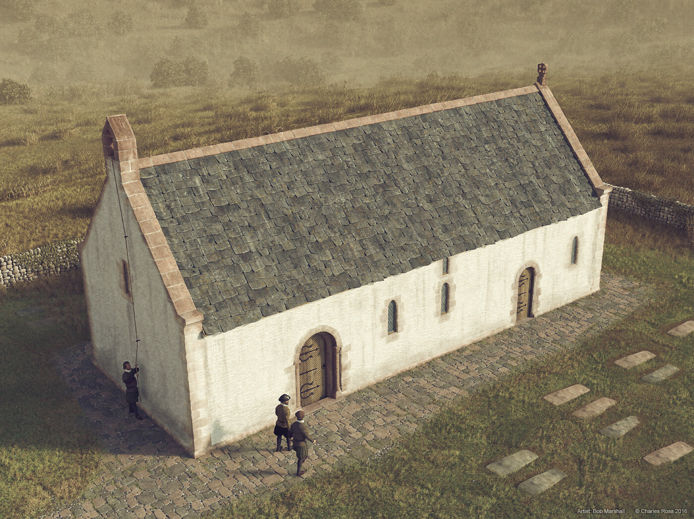 Digital Reconstruction of Ardrossan Parish Church