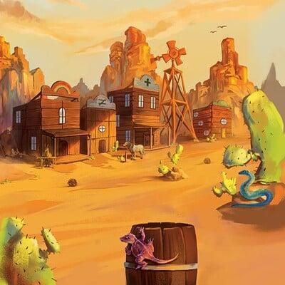 Tumble Town Game