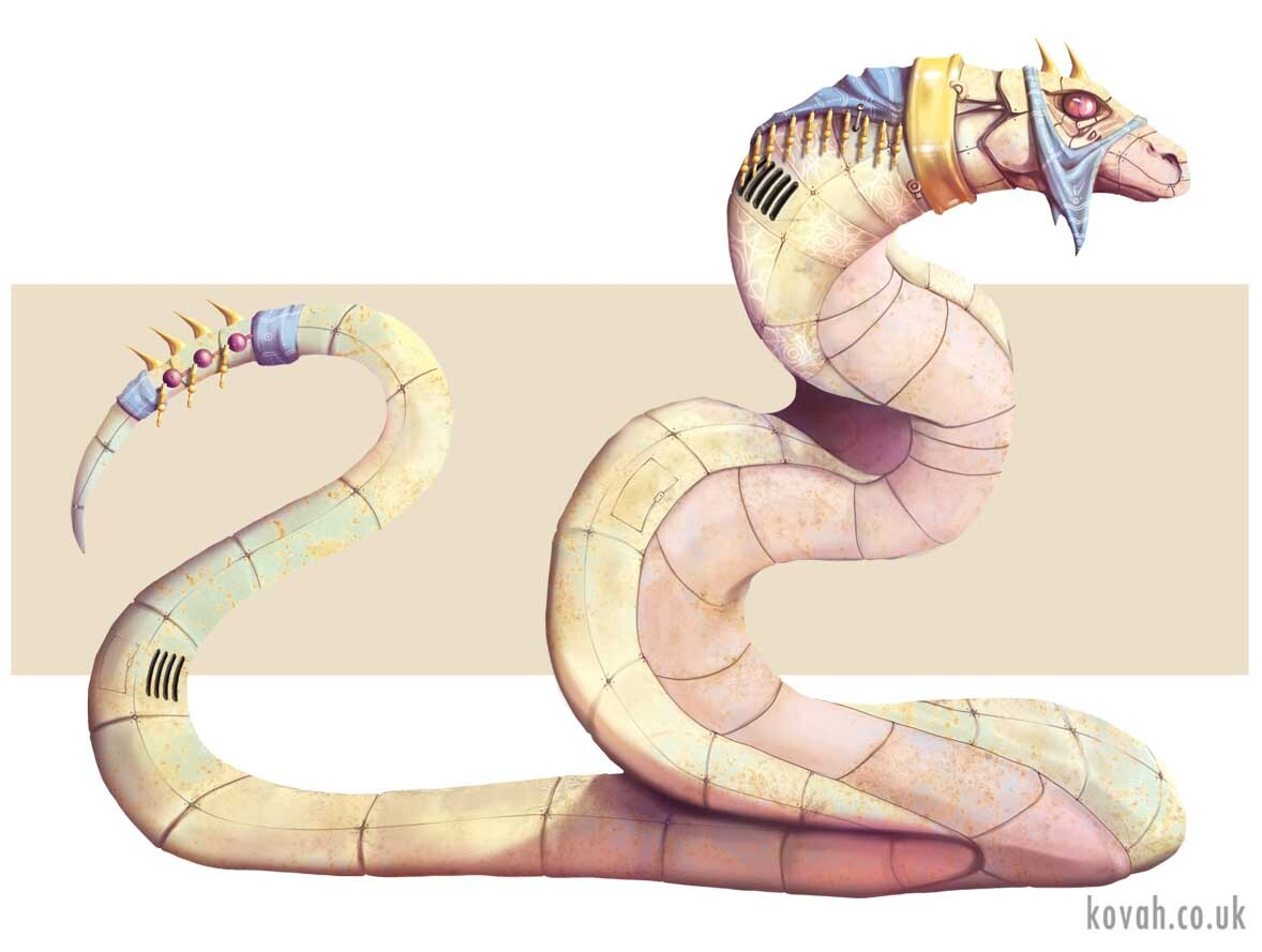 Snake mech steed