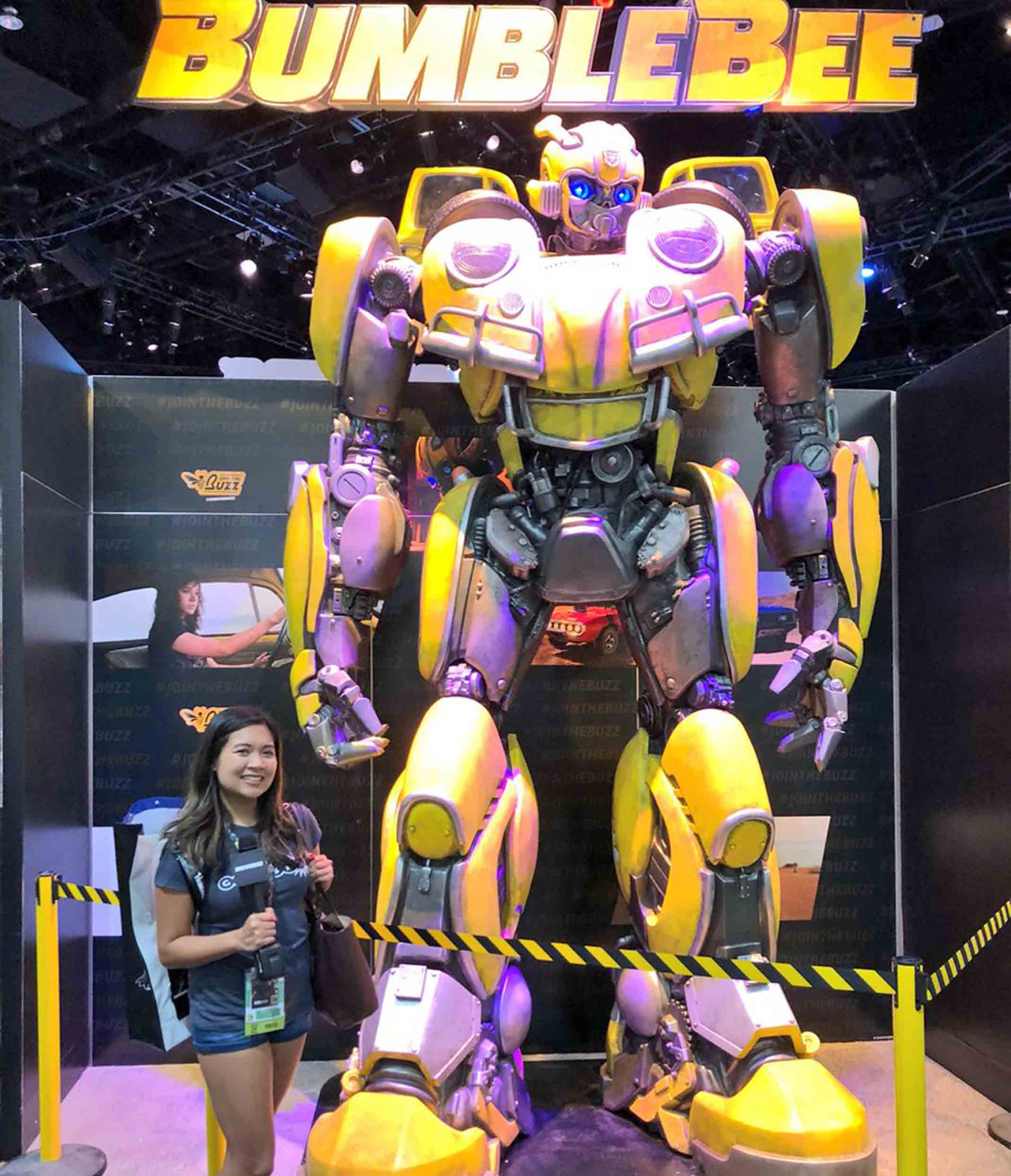 Bumblebee-Paramount Pictures-Designed by Yacine BRINIS-002-3D Printed an painted (pictures taken in San-Diego)