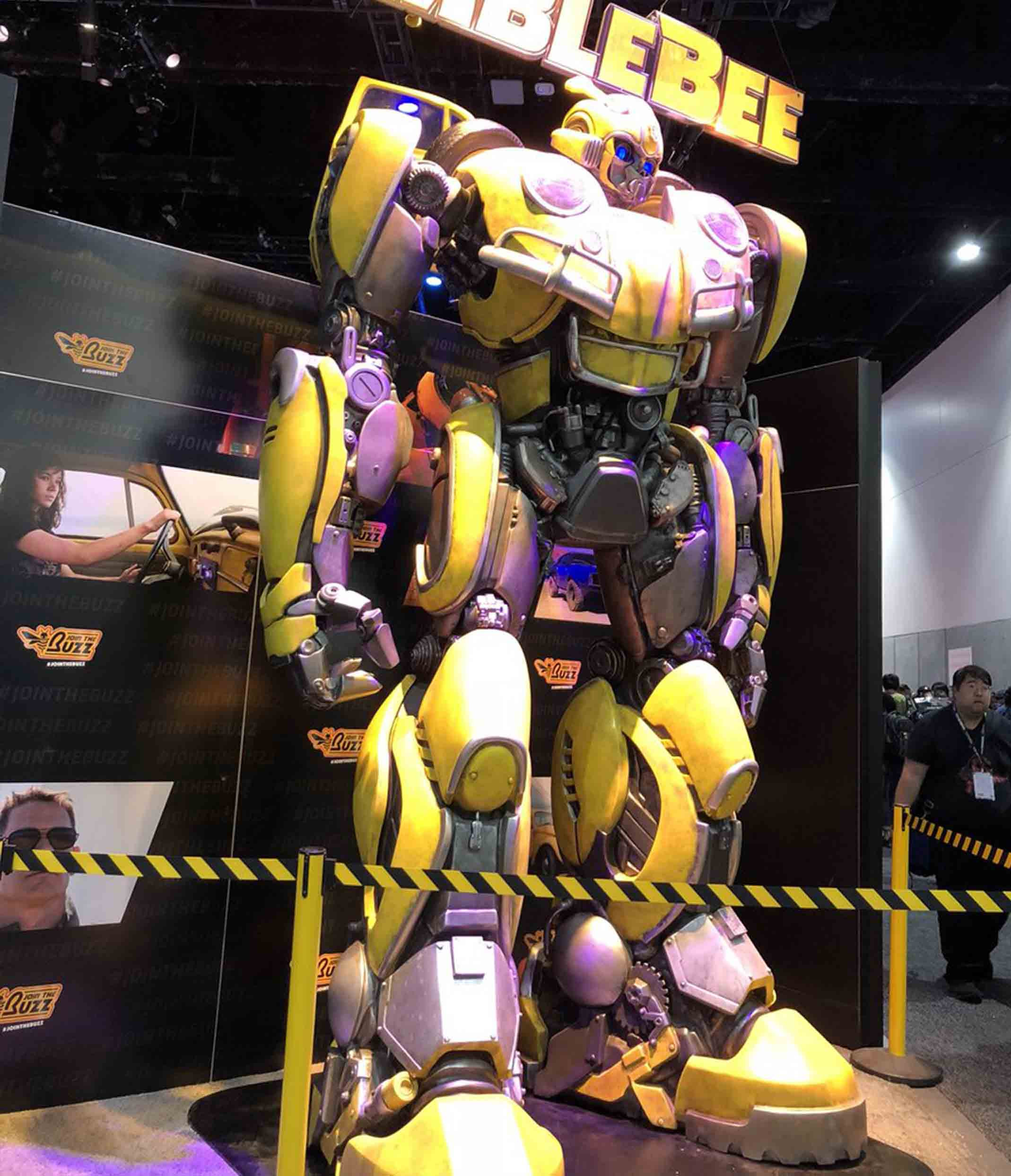 Bumblebee-Paramount Pictures-Designed by Yacine BRINIS-003-3D Printed an painted (pictures taken in San-Diego)
