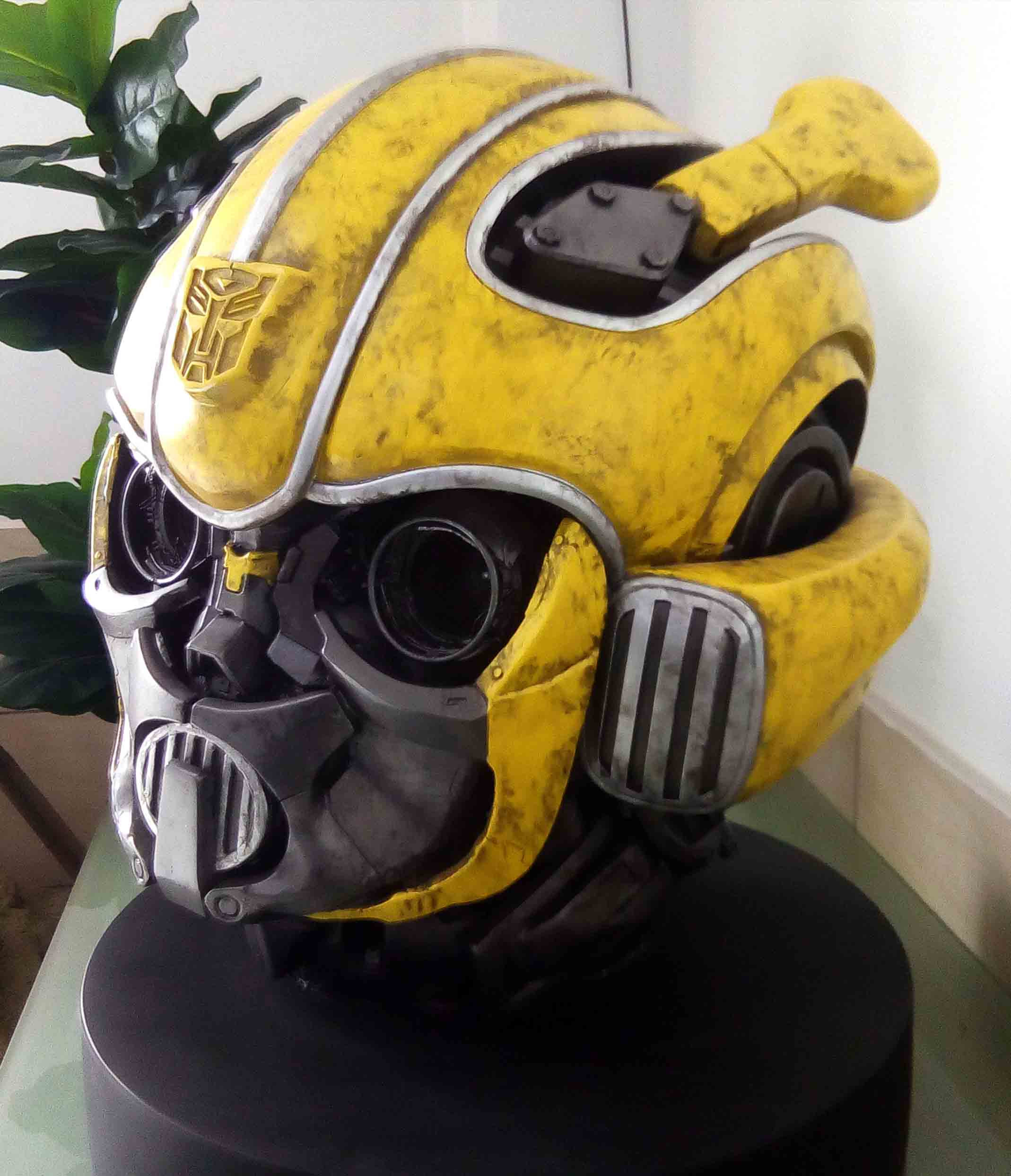 Bumblebee-Paramount Pictures-Designed by Yacine BRINIS-004-3D Printed an painted