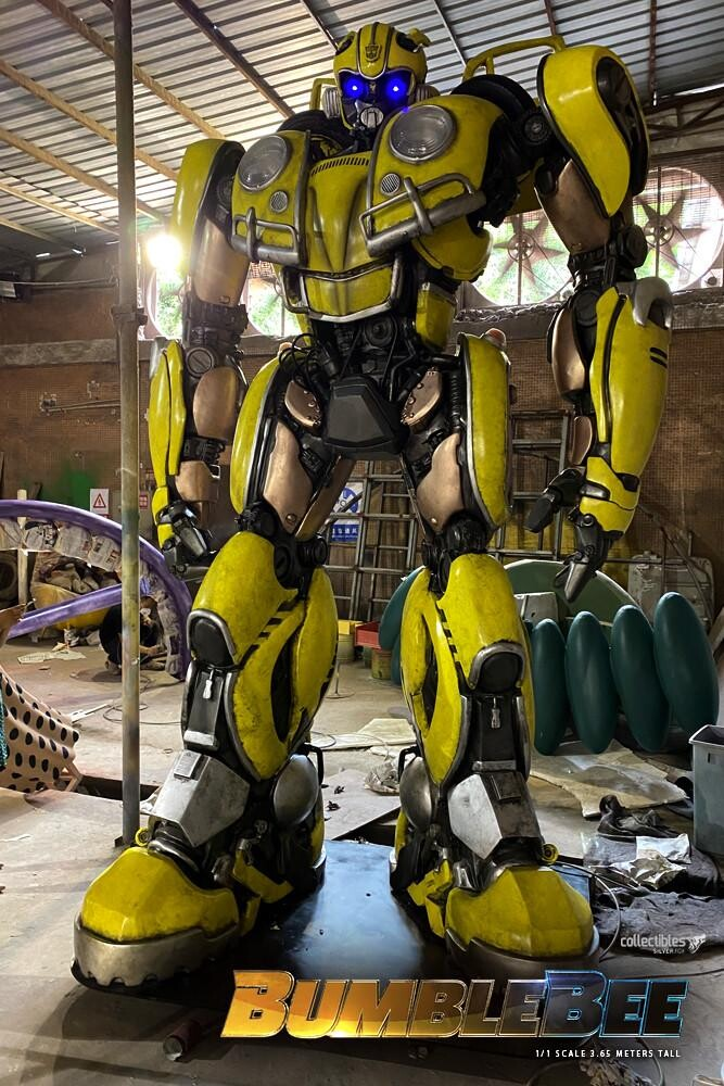 Bumblebee-Paramount Pictures-Designed by Yacine BRINIS-007-3D Printed an painted