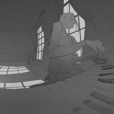 Scene sketches