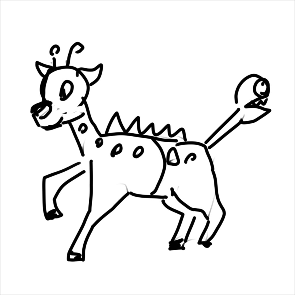 Girafarig 50 sec