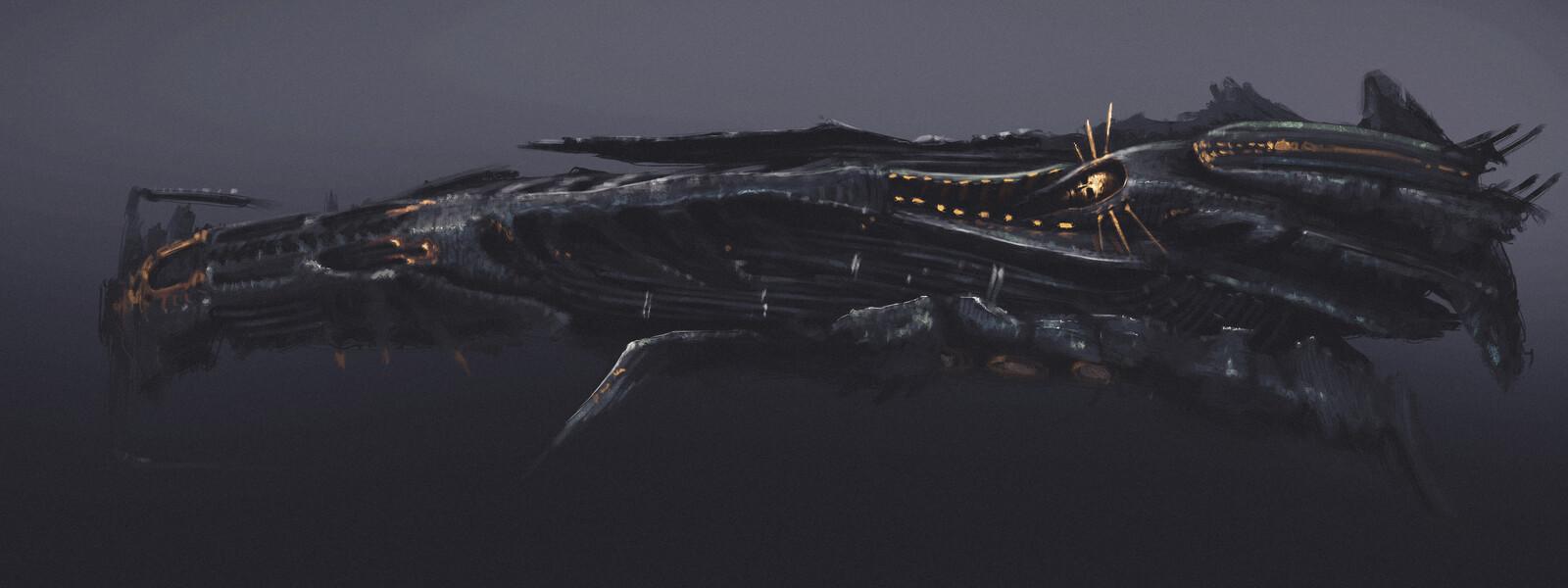 """Dark Gnosis"" [spaceship]"