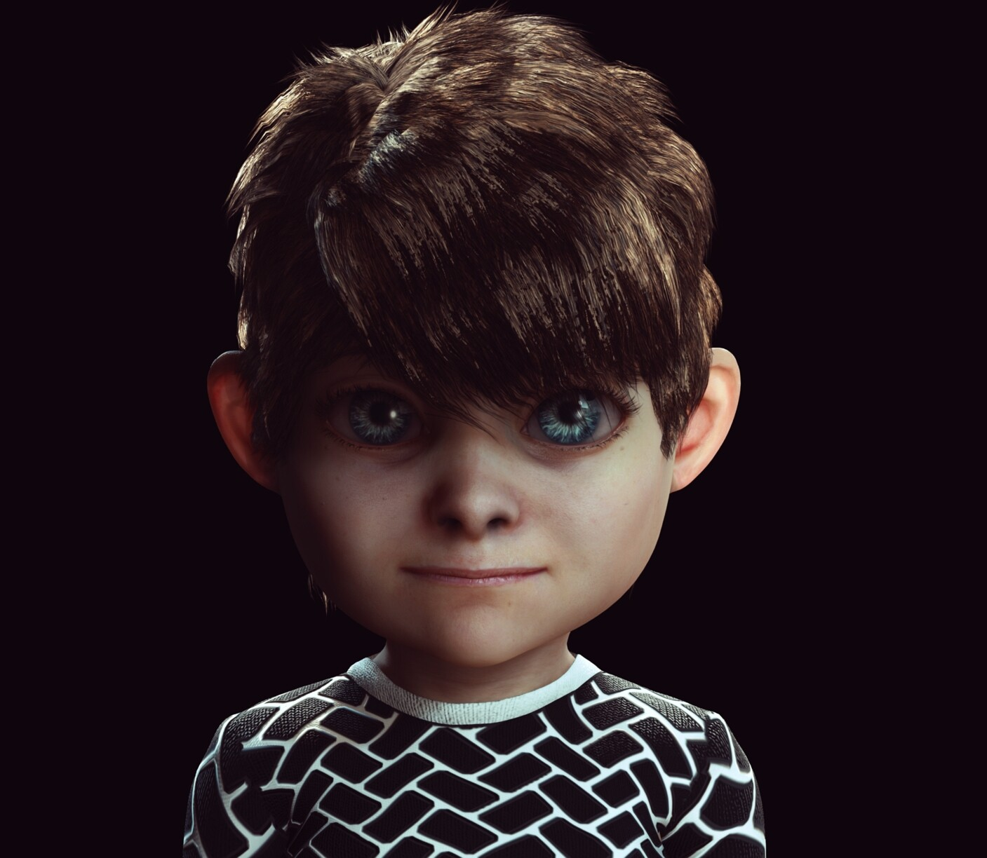CC3 Stylized Base Kid Morph