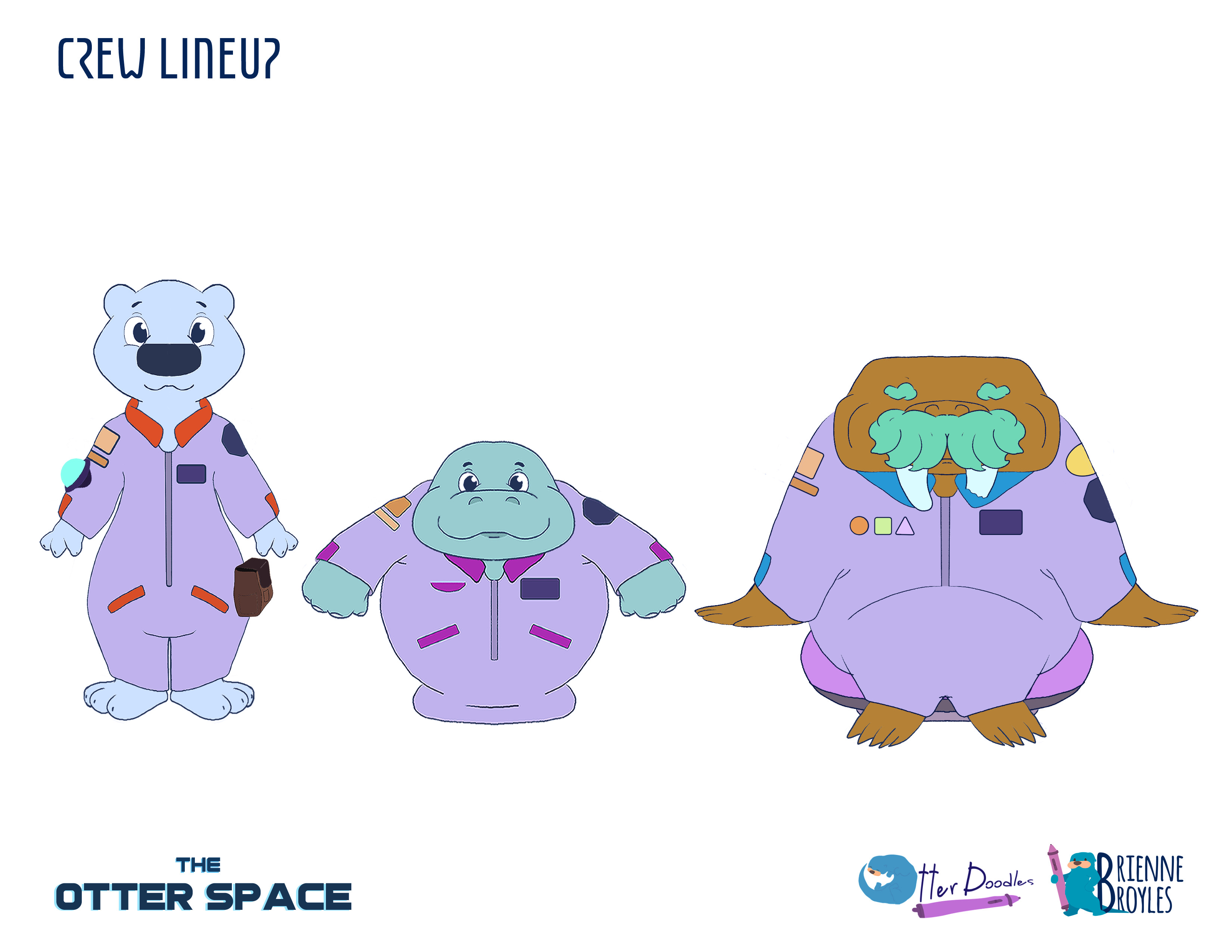 The Otter Space: Crew Lineup
