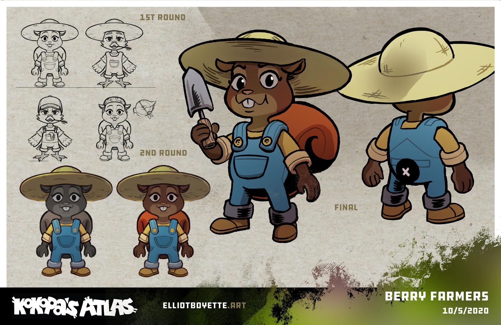 Kokopa's Atlas Characters