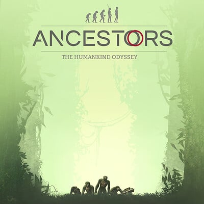 Ancestors: The Humankind Odyssey Official Game Poster Art
