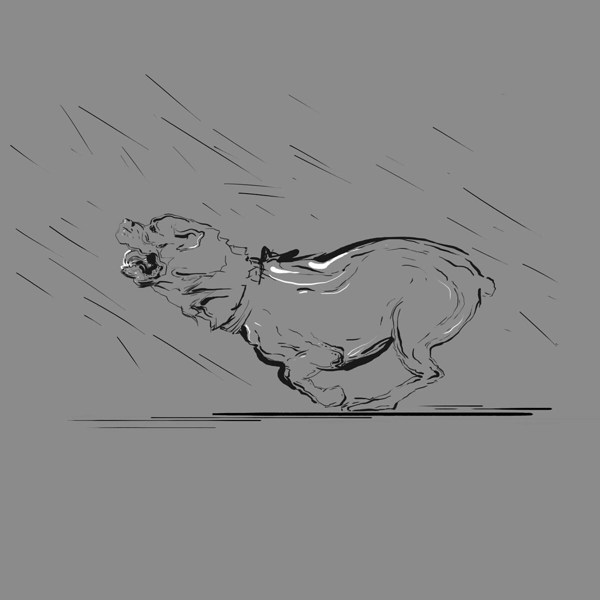 Rottweiler concept scetch
