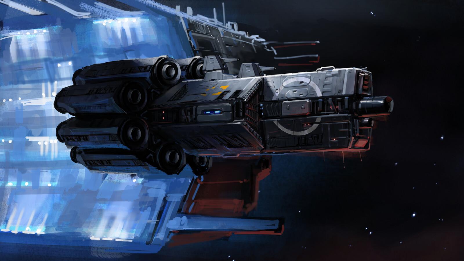 Atack frigate