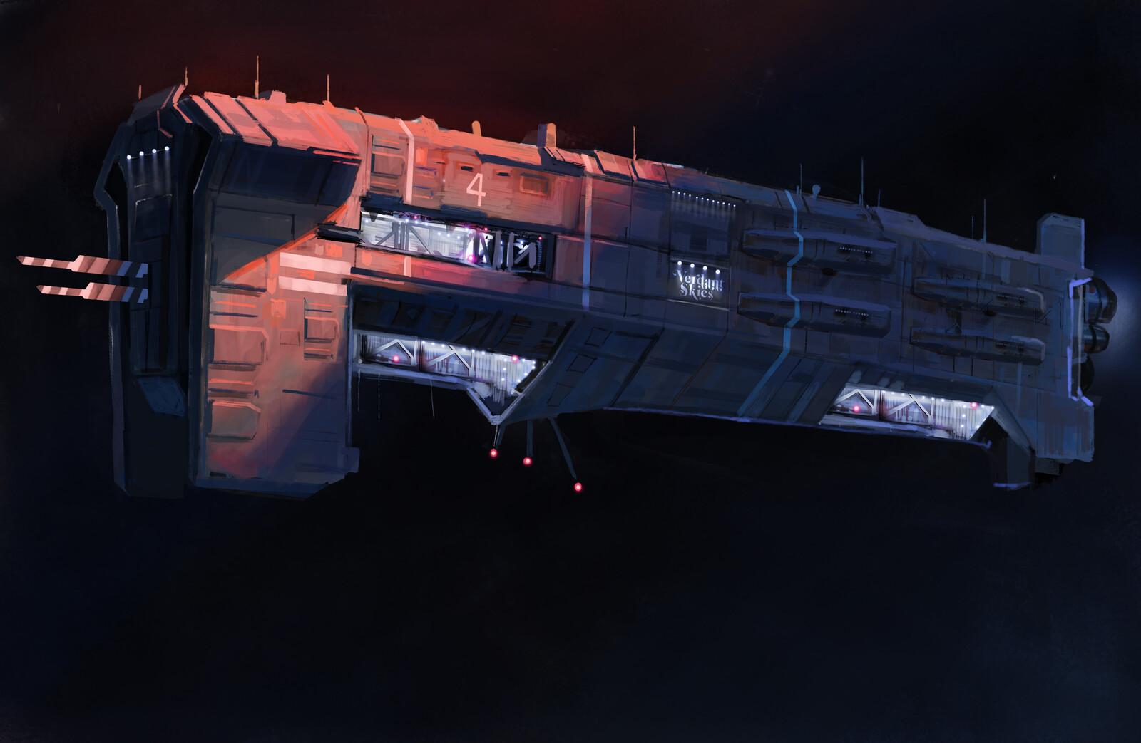 Cargoship number 1