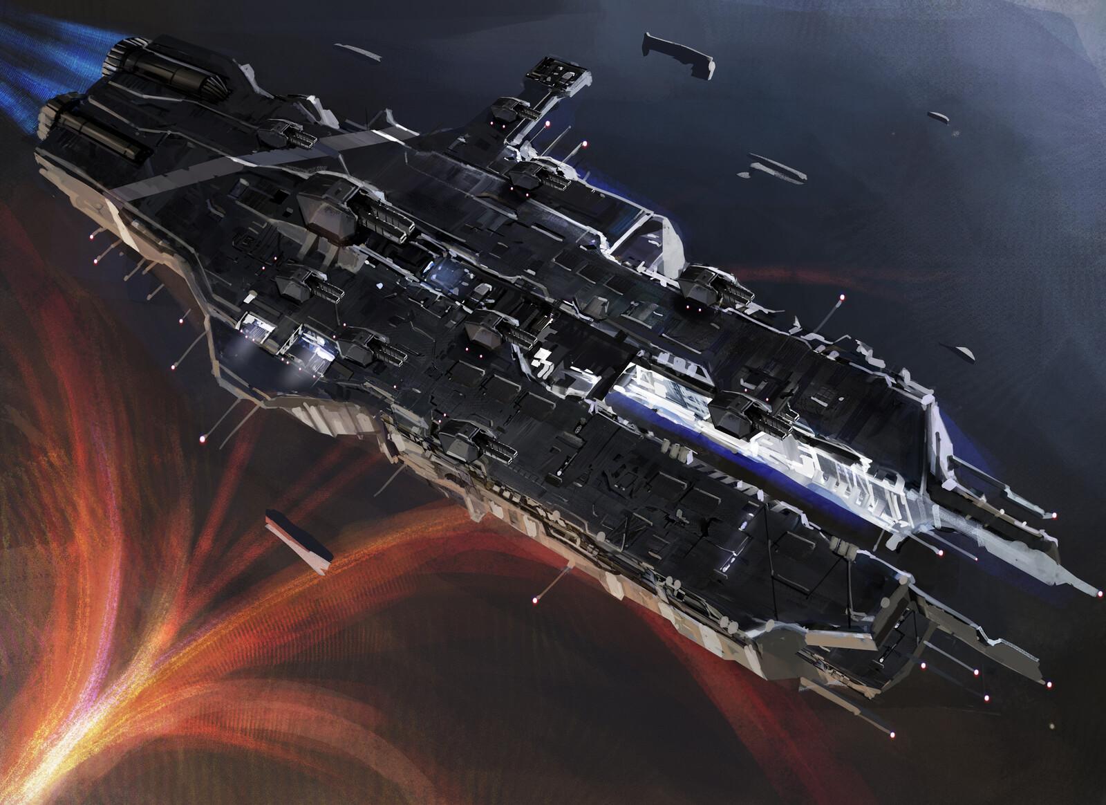 Odyssey of Helios battleship