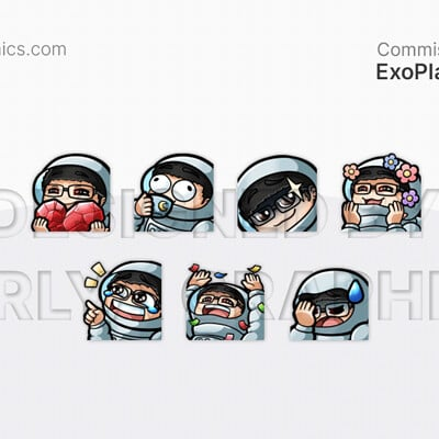 Aerlya graphics sample exoplanettv emotes
