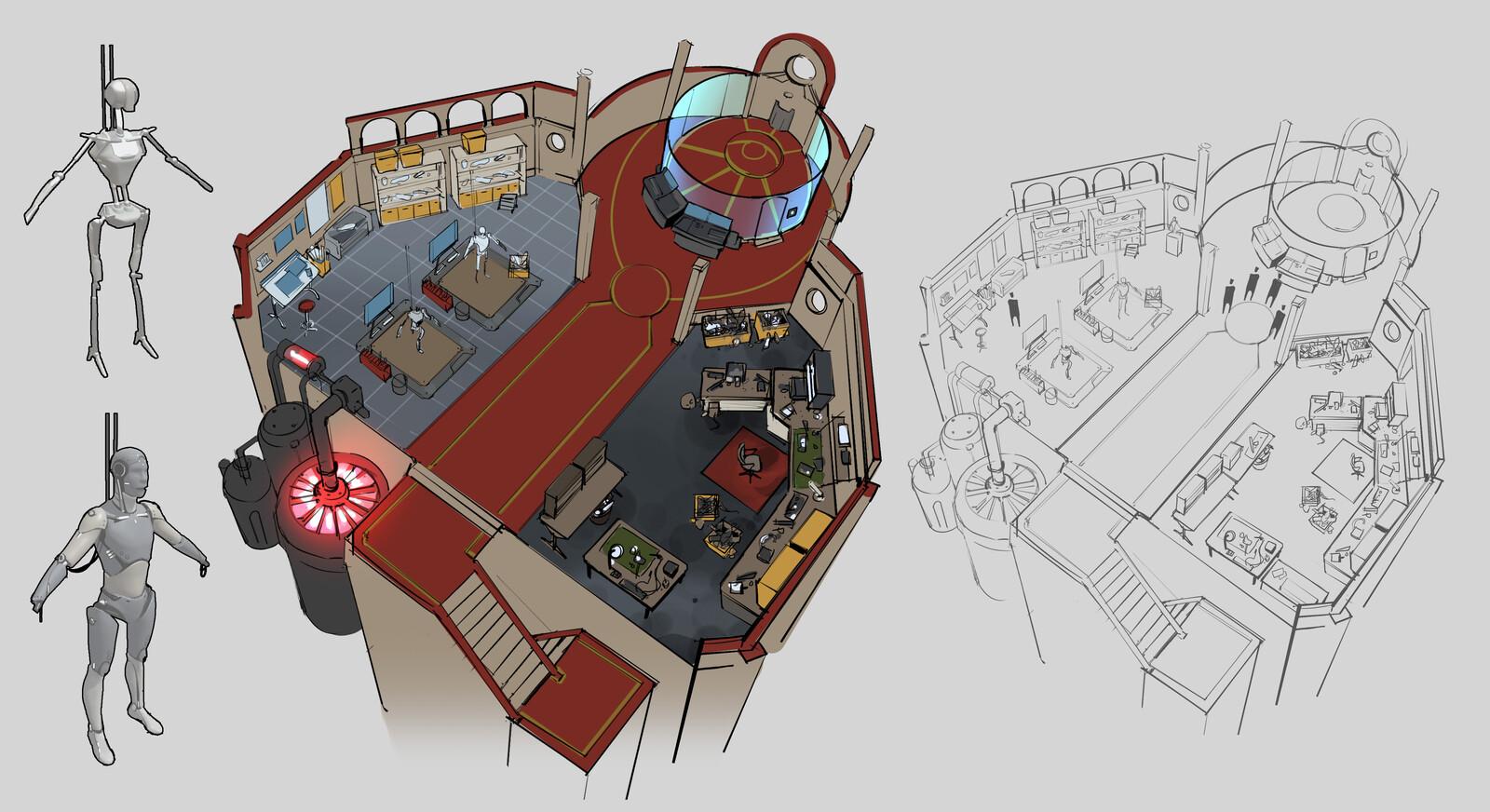 Workshop level design