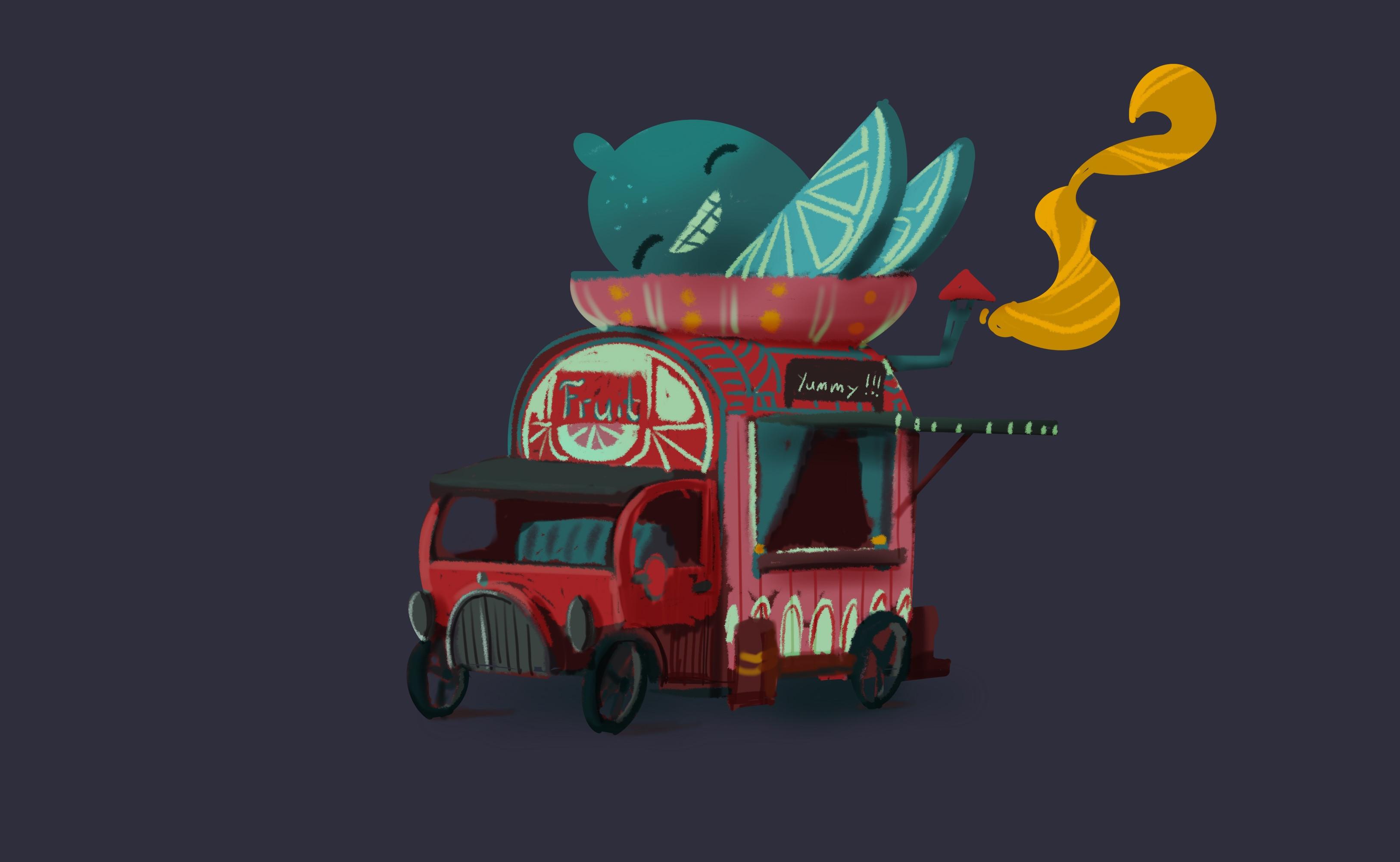Lemon truck