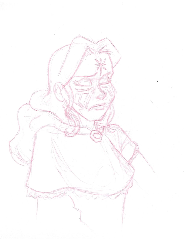 Laerela's stylized sketch