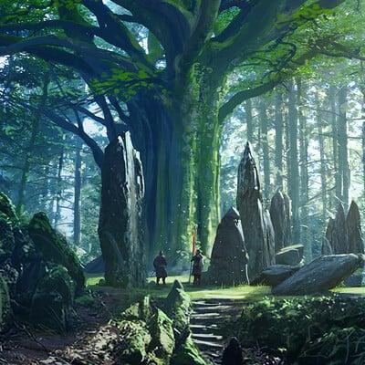Raphael lacoste conf ack env mystical tree raph