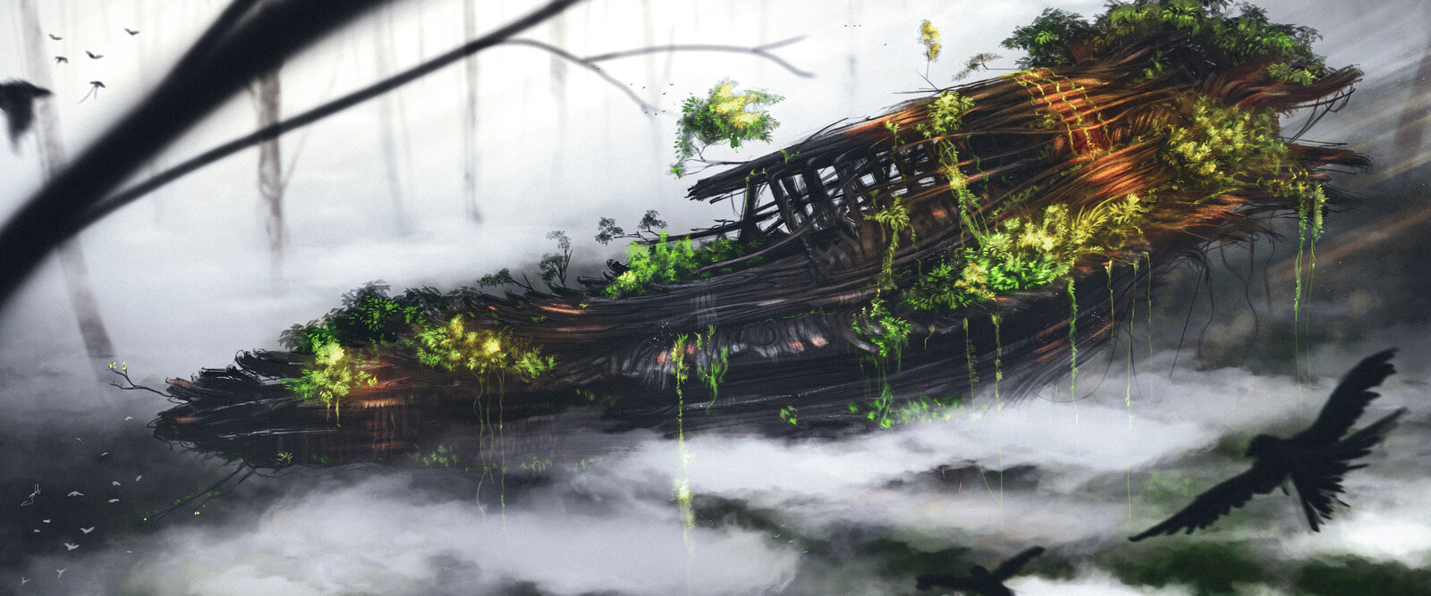 Forest ship