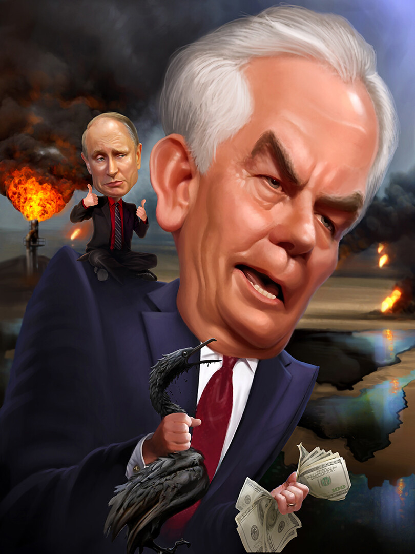 T-Rex Tillerson and Jimmy Putin
