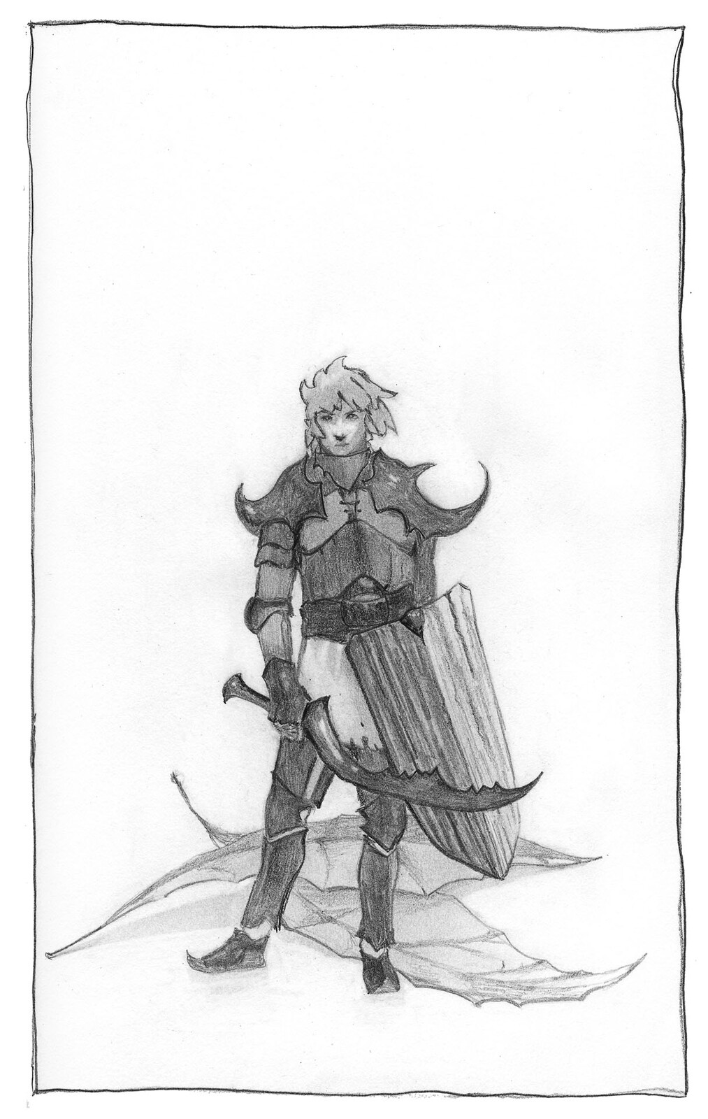 Inktober 2020 day 14 : armor