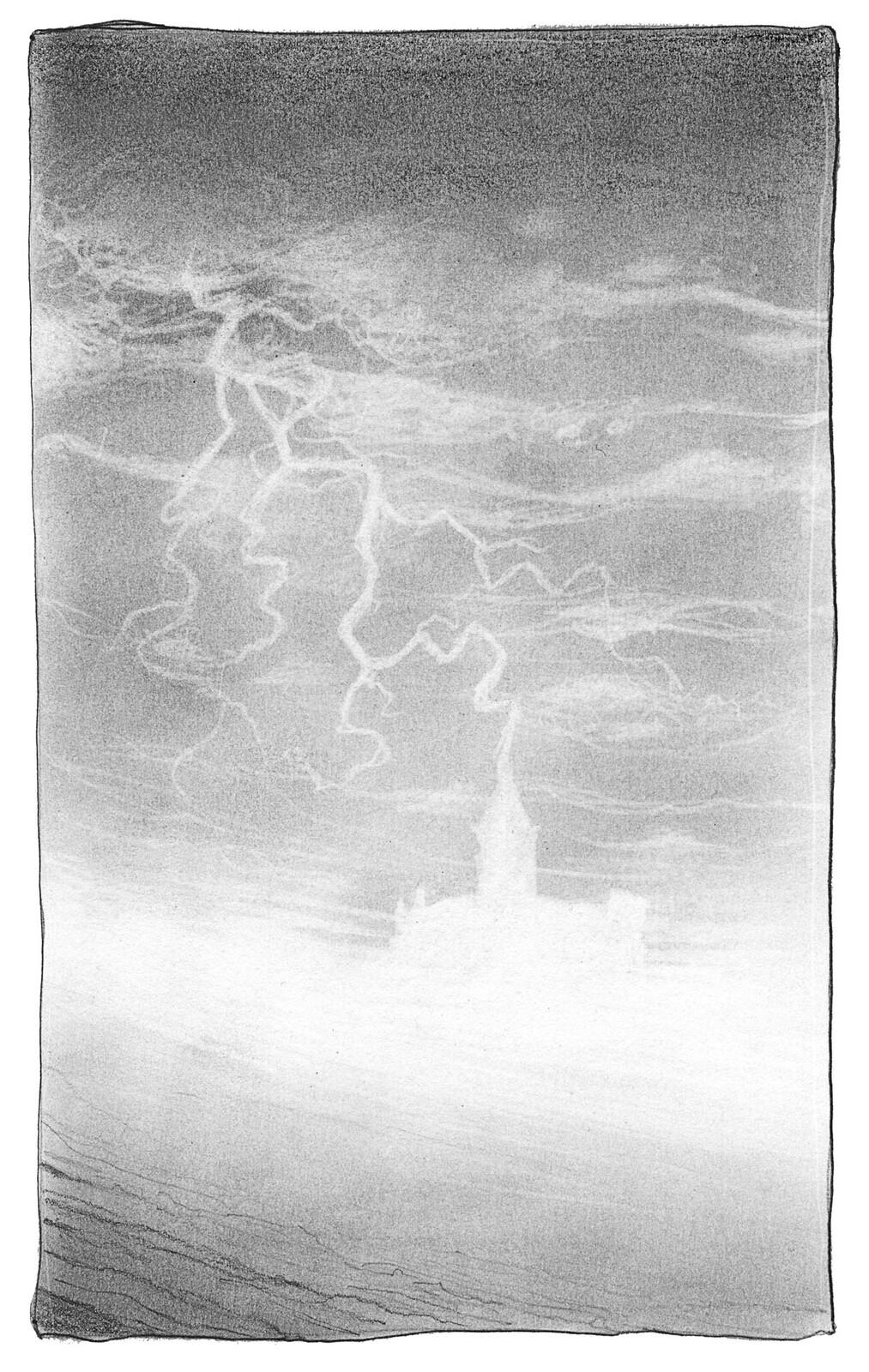 Inktober 2020 day 17 : storm