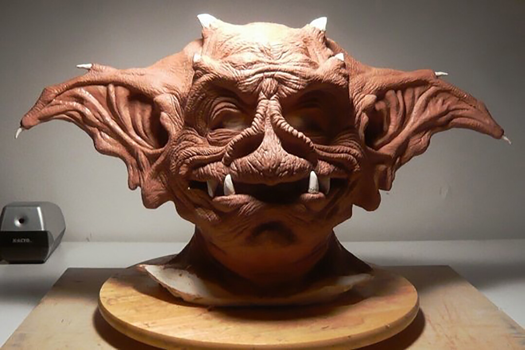 Halloween Mask: Clay Sculpt on Plaster Life Cast