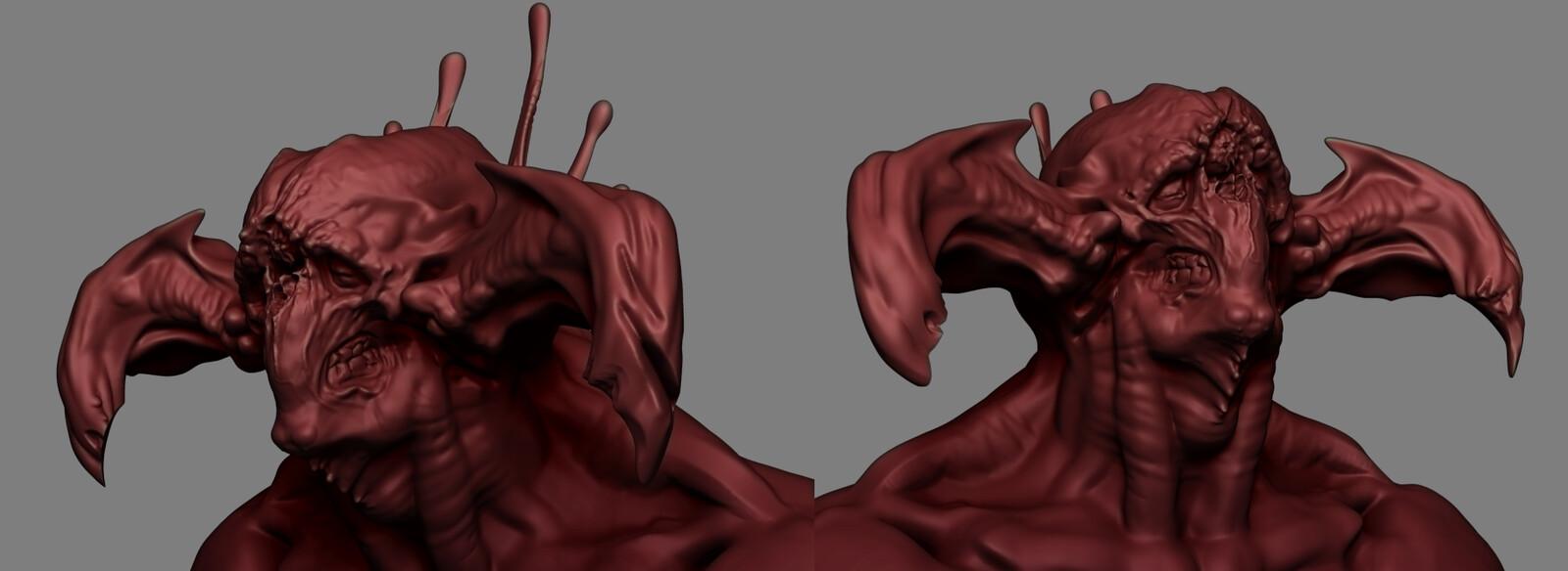 finished sculpt