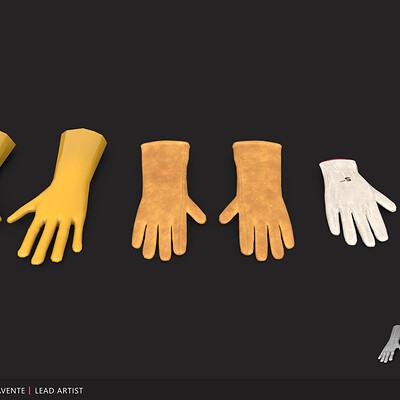 Brian benavente port gloves