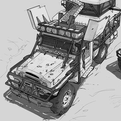 Storm Rescue Vehicle
