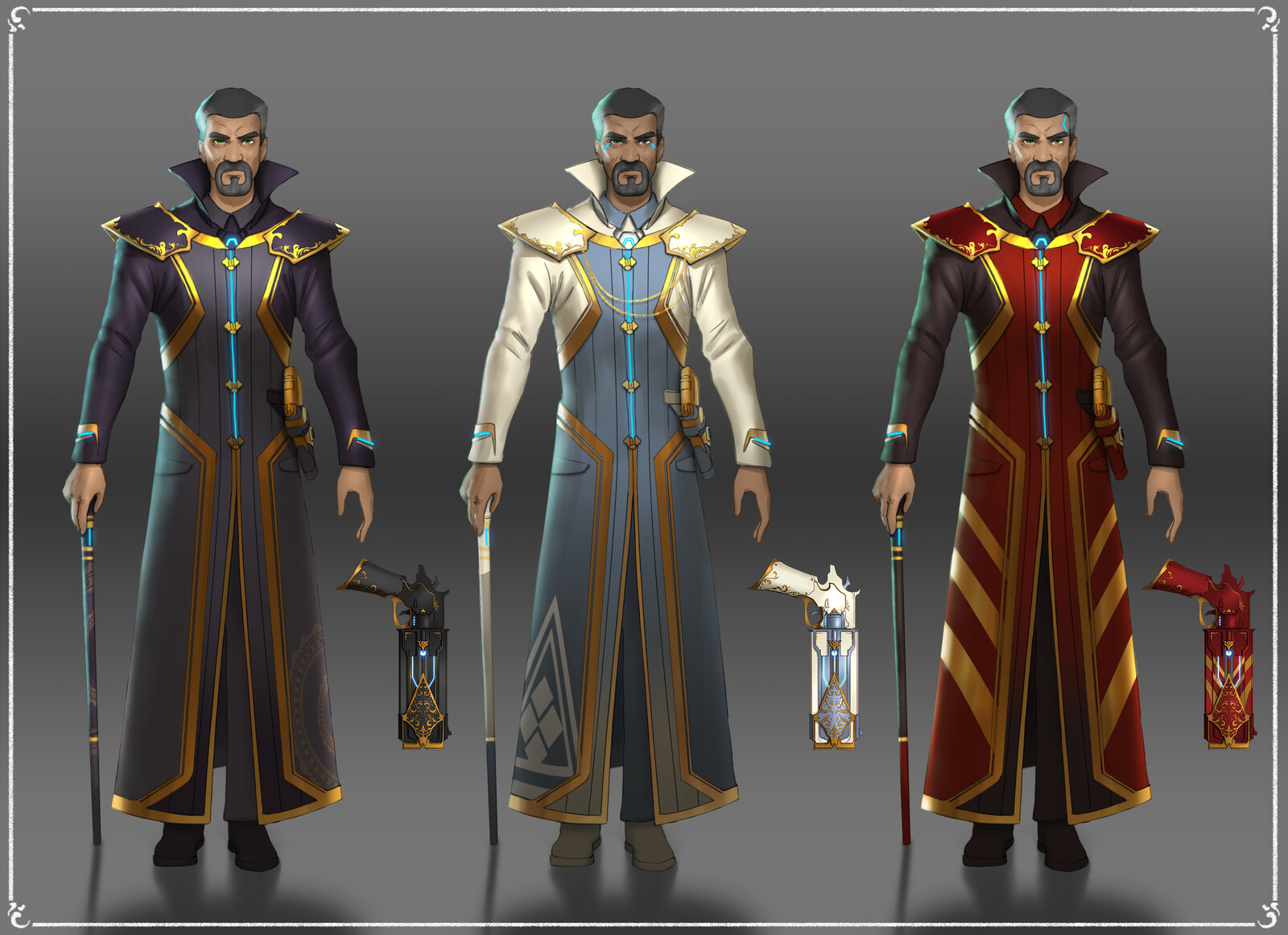 Starship Crew Uniforms 2