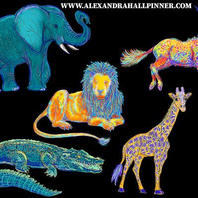 Alexandra hall pinner wild animals tear sheet1