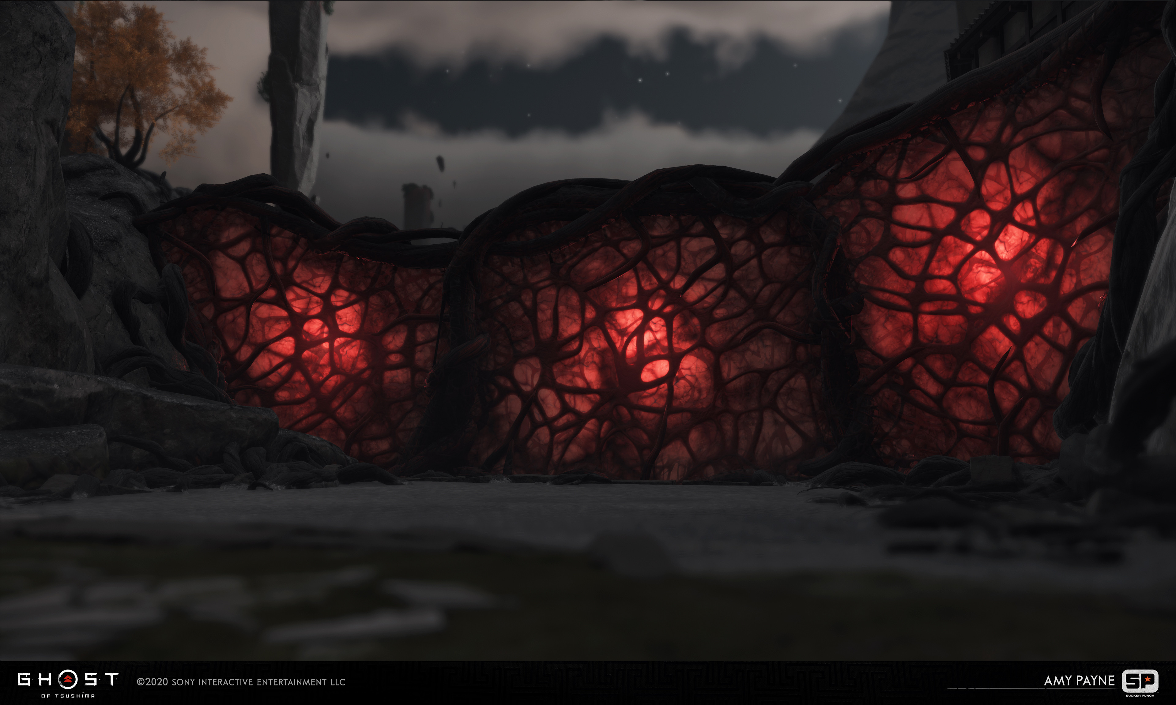 Responsible for the Sinew walls. Lighting by Gaby Soto, FX by Matt Vainio.