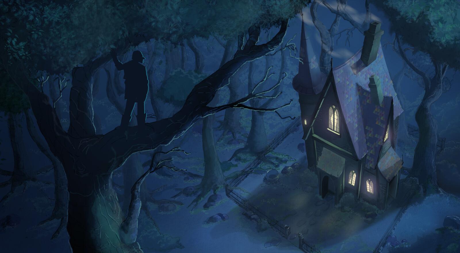 Rumpelstiltskin's house