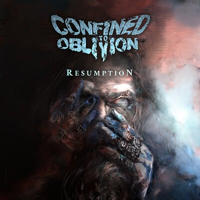 Confined To Oblivion - Album Cover Art