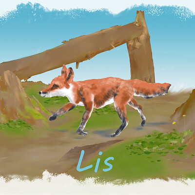 Fox Storybook Doodle