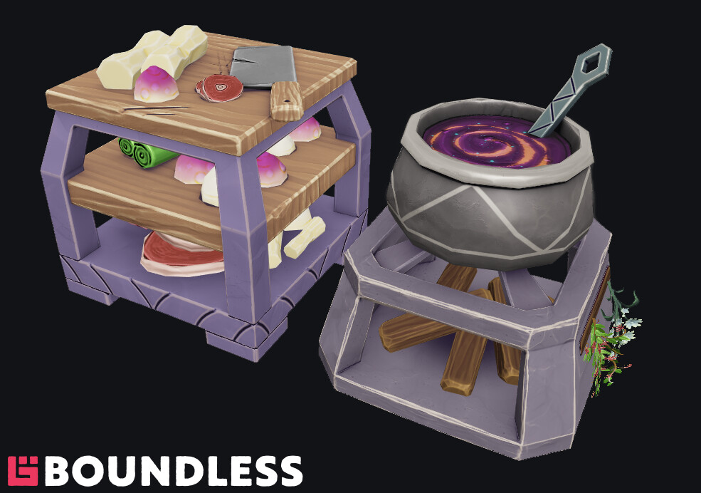 Cooking crafting stations