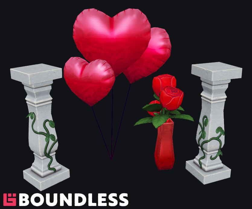 Valentines event props